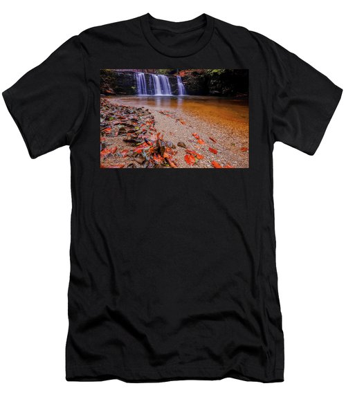 Waterfall-8 Men's T-Shirt (Athletic Fit)