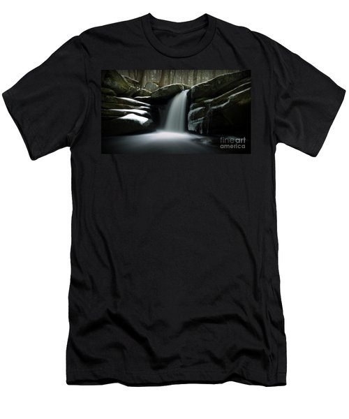 Waterfall From A Dream Men's T-Shirt (Athletic Fit)