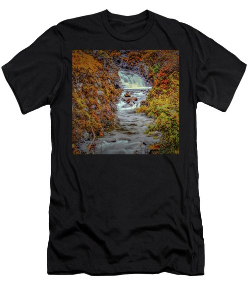 Waterfall #g8 Men's T-Shirt (Athletic Fit)
