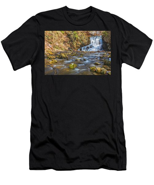 Waterfall Of April Snow Men's T-Shirt (Athletic Fit)