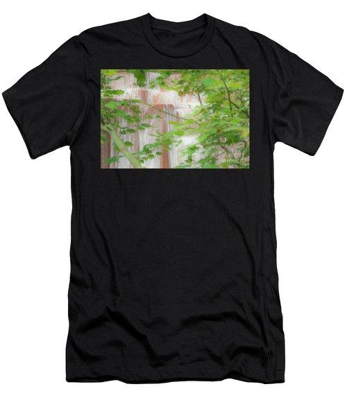 Waterfall, Portland Men's T-Shirt (Athletic Fit)