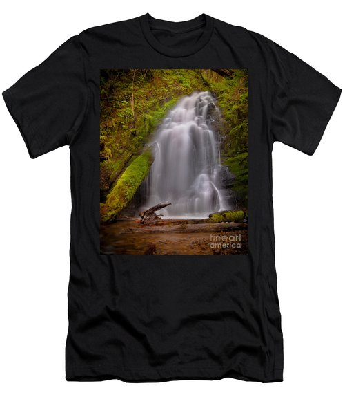 Waterfall Showers Men's T-Shirt (Athletic Fit)