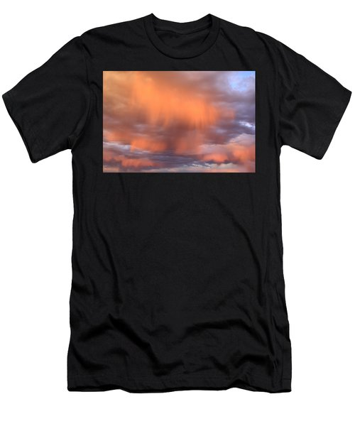 Waterfalls In The Sky Men's T-Shirt (Athletic Fit)