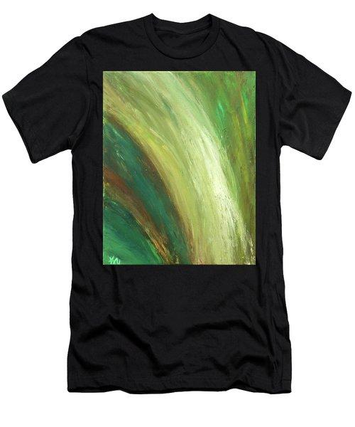 Waterfalls  Men's T-Shirt (Athletic Fit)