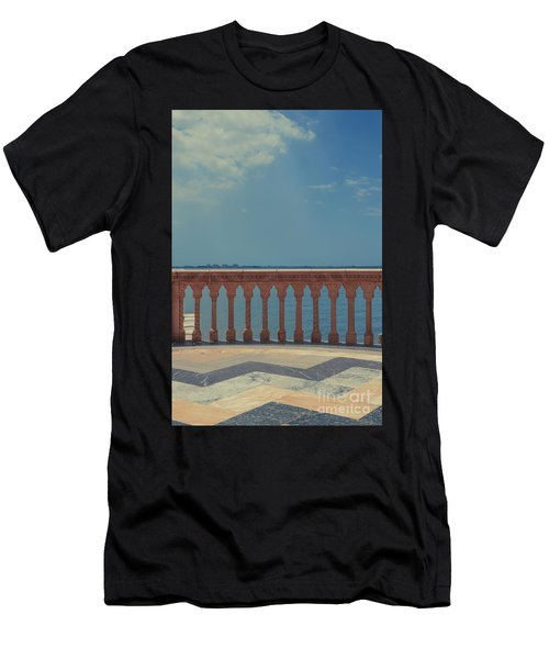 Waterfront Balcony Ringling Ca D Zan The Last Of The Gilded Mansions Men's T-Shirt (Athletic Fit)