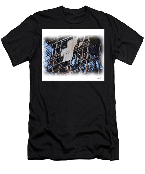 Waterfront Decay Three Men's T-Shirt (Athletic Fit)