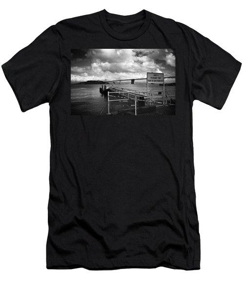 Waterfront San Francisco Men's T-Shirt (Athletic Fit)