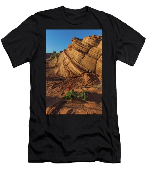 Waterhole Canyon Evening Solitude Men's T-Shirt (Athletic Fit)