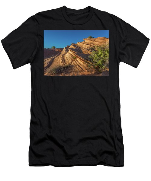 Waterhole Canyon Rock Formation Men's T-Shirt (Athletic Fit)