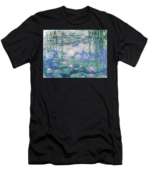 Waterlilies 1916-1919 Men's T-Shirt (Athletic Fit)