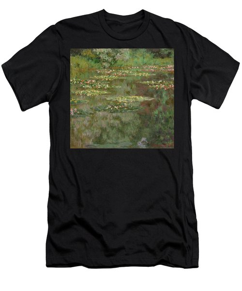 Waterlilies Or The Water Lily Pond Men's T-Shirt (Athletic Fit)
