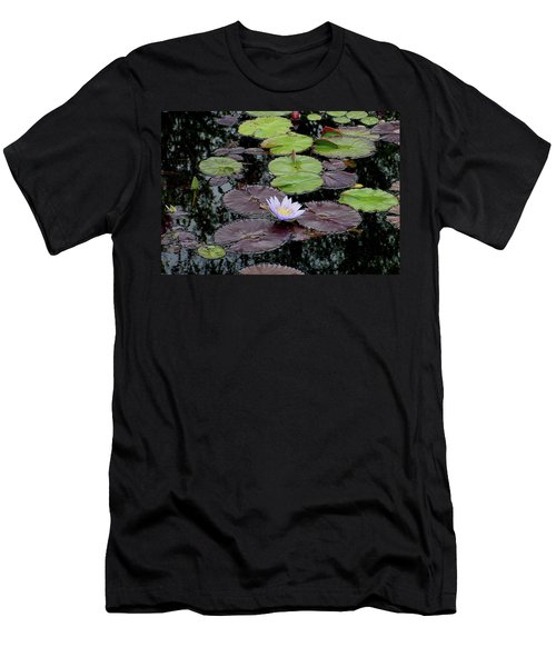 Waterlily - 001 Men's T-Shirt (Athletic Fit)