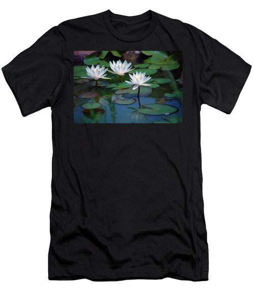 Waterlilys Men's T-Shirt (Athletic Fit)