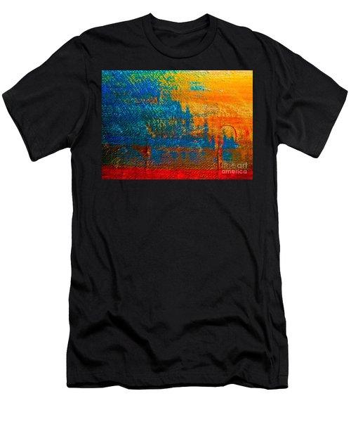 Waterloo Sunset Men's T-Shirt (Athletic Fit)