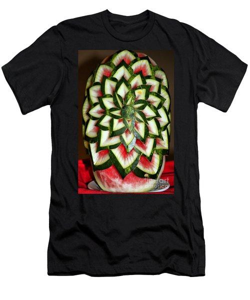 Watermelon Art Men's T-Shirt (Athletic Fit)