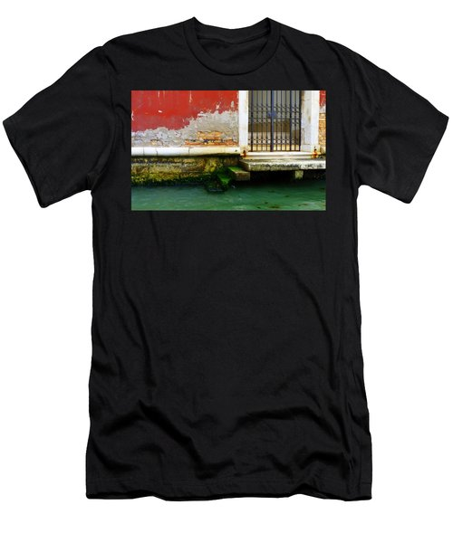 Water's Edge In Venice Men's T-Shirt (Athletic Fit)