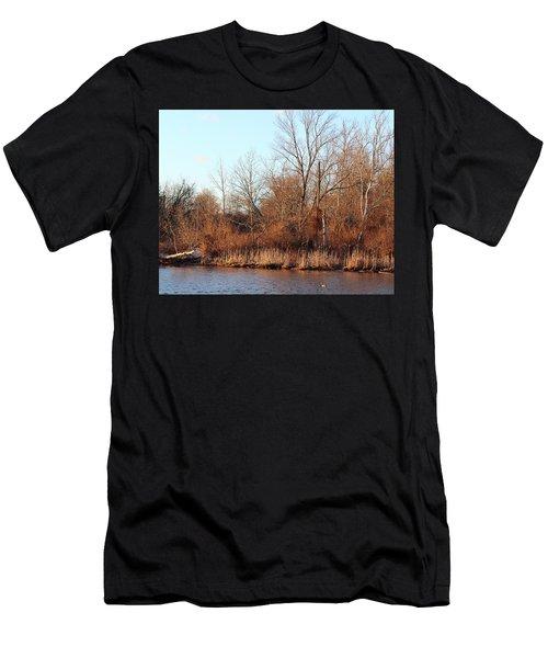 Northeast River Banks Men's T-Shirt (Athletic Fit)
