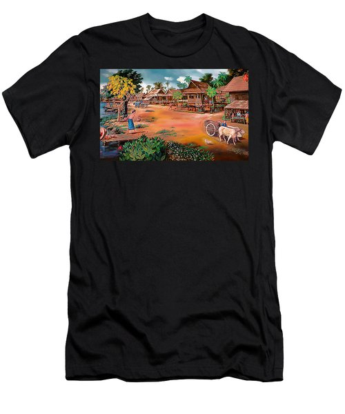 Waterside Town Community Men's T-Shirt (Athletic Fit)