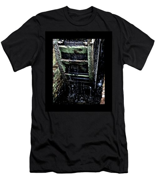 Waterwheel 1 Men's T-Shirt (Athletic Fit)