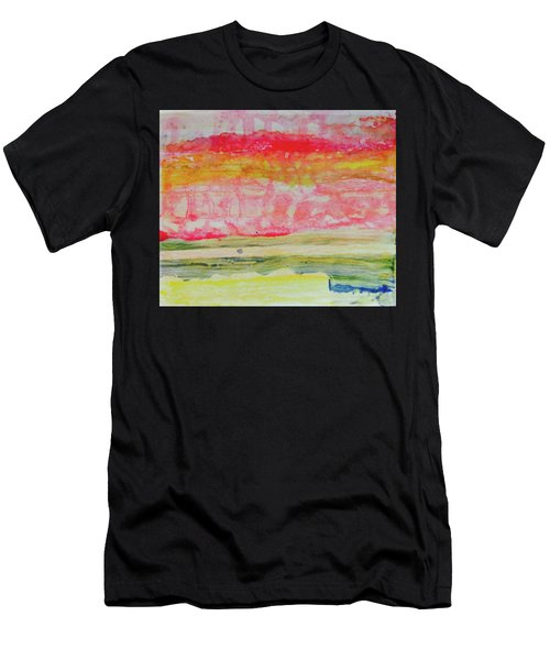 Watery Seascape Men's T-Shirt (Athletic Fit)