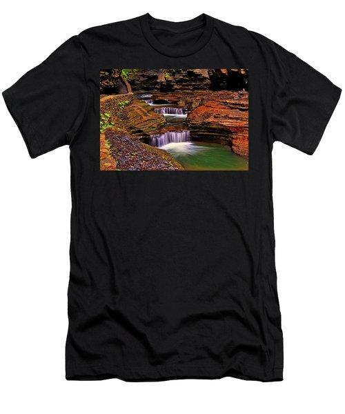 Watkins Glen State Park 014 Men's T-Shirt (Athletic Fit)