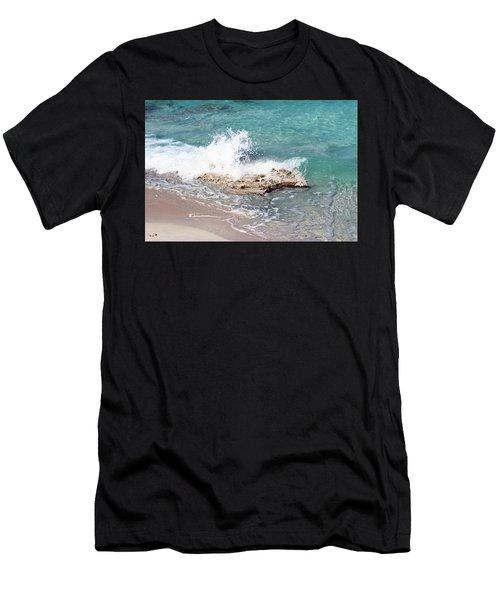 Gentle Wave In Bimini Men's T-Shirt (Athletic Fit)