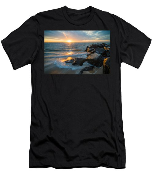 Wave Break Men's T-Shirt (Athletic Fit)