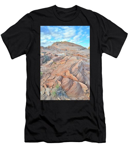 Wave Of Sandstone In Valley Of Fire Men's T-Shirt (Athletic Fit)