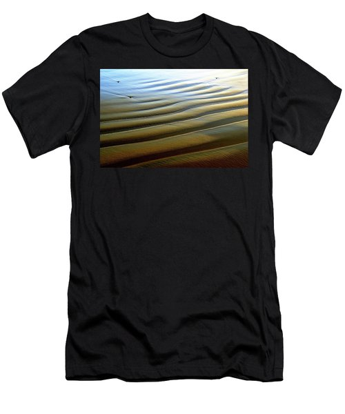 Wave Patterns At Drake's Beach, Point Reyes National Seashore Men's T-Shirt (Athletic Fit)