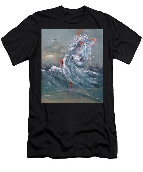 Wave Within Men's T-Shirt (Athletic Fit)