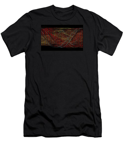 Abstract Visuals - Wavelengths Men's T-Shirt (Athletic Fit)