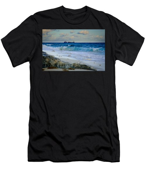 Waves And Tankers Men's T-Shirt (Athletic Fit)