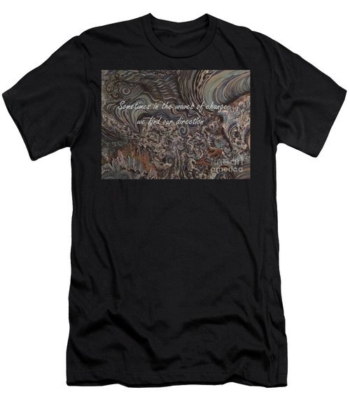 Waves Of Change Men's T-Shirt (Athletic Fit)