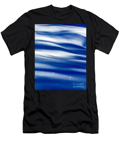 Waves Of Diamonds Men's T-Shirt (Athletic Fit)