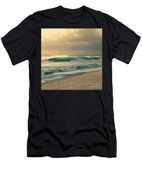 Waves Of Light - Hipster Photo Square Men's T-Shirt (Athletic Fit)