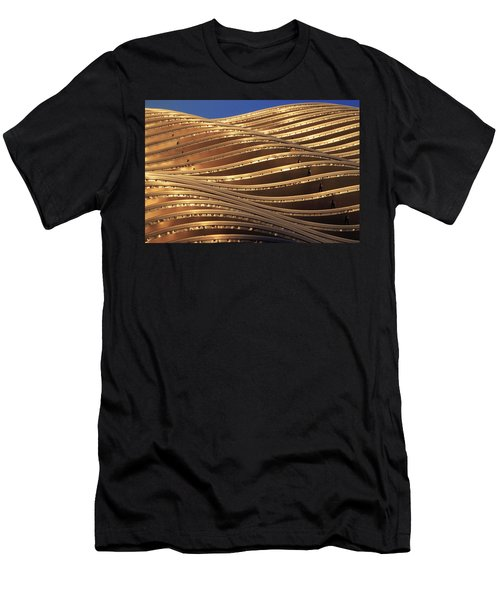 Waves Of Steel Men's T-Shirt (Slim Fit) by Christopher McKenzie