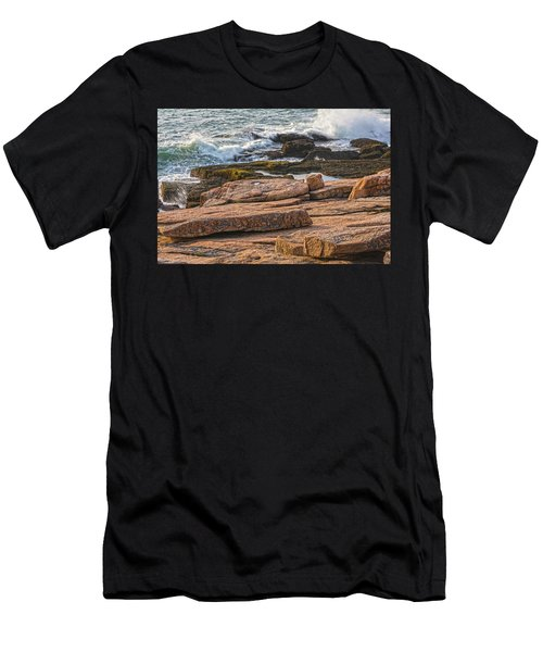 Waves Of Stone Men's T-Shirt (Athletic Fit)