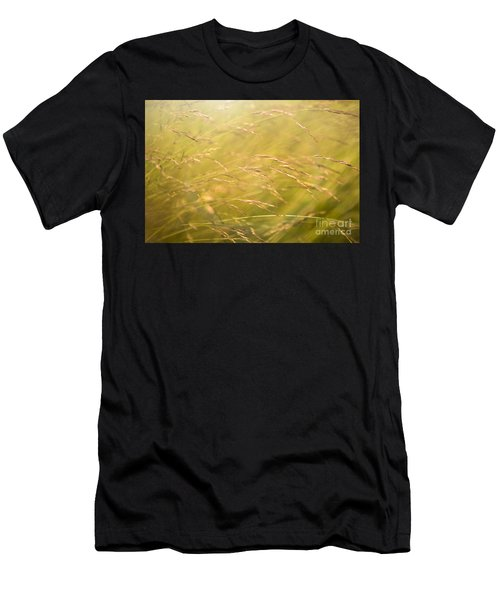 Waving Grass Men's T-Shirt (Athletic Fit)