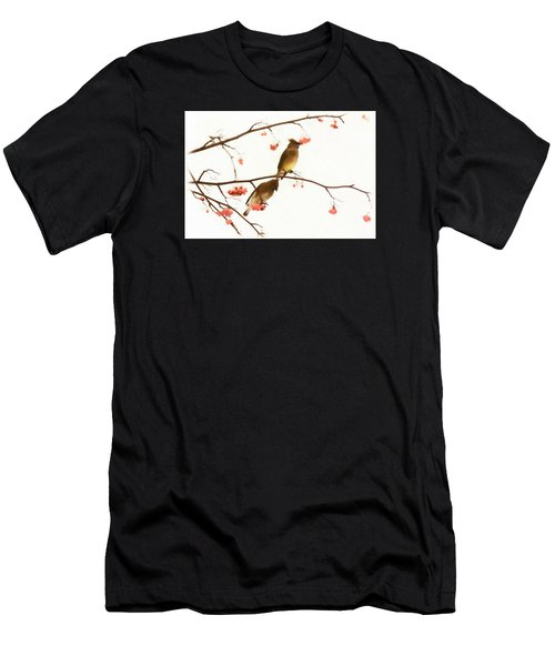 Waxwing Wonders Men's T-Shirt (Athletic Fit)