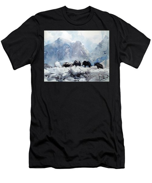 way to Everest Men's T-Shirt (Athletic Fit)
