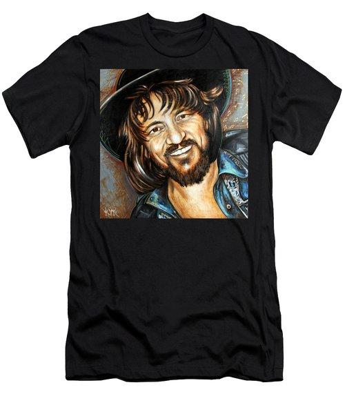 Waylon Jennings Men's T-Shirt (Athletic Fit)
