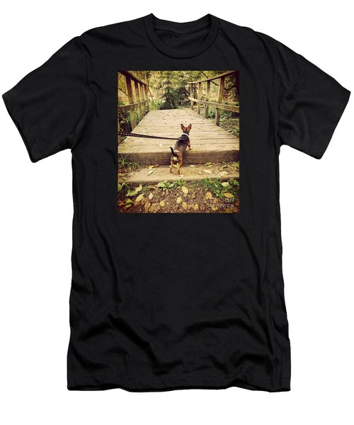 We All Have Our Paths Men's T-Shirt (Athletic Fit)
