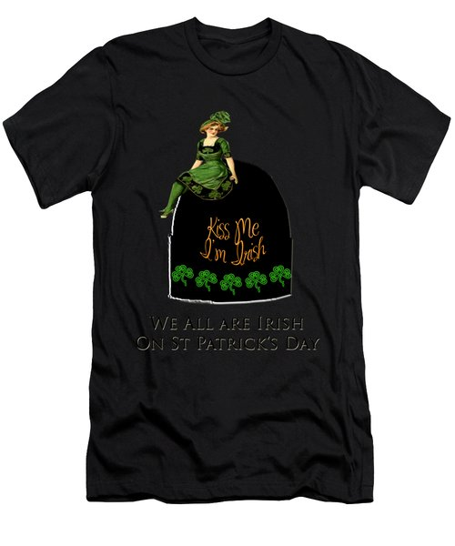 We All Irish This Beautiful Day Men's T-Shirt (Athletic Fit)