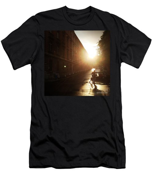 We Live In Budapest #11 Men's T-Shirt (Athletic Fit)