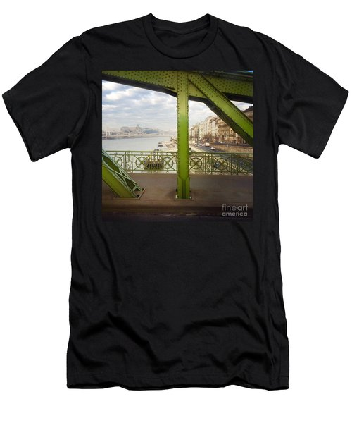 We Live In Budapest #4 Men's T-Shirt (Athletic Fit)
