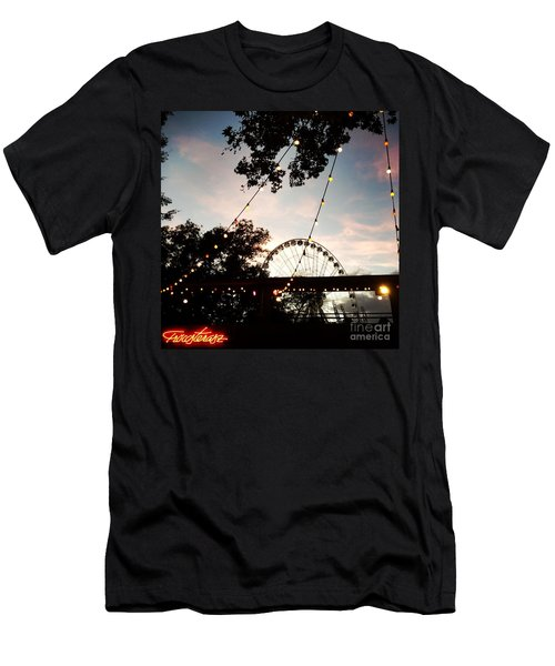 We Live In Budapest #7 Men's T-Shirt (Athletic Fit)