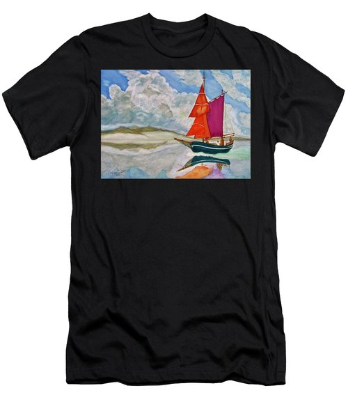 We Sailed Upon A Sea Of Glass Men's T-Shirt (Athletic Fit)