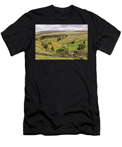 Weardale Landscape Men's T-Shirt (Athletic Fit)