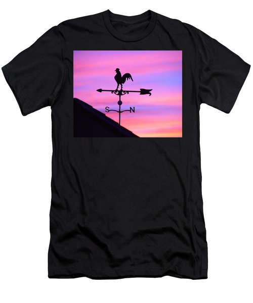 Weather Vane, Wendel's Cock Men's T-Shirt (Slim Fit) by Jana Russon