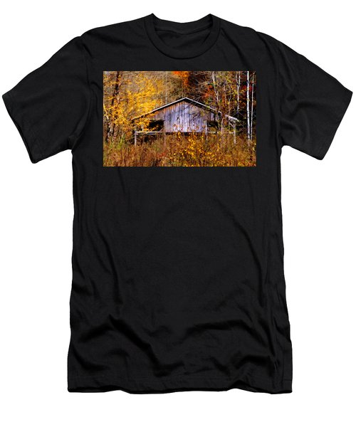 Weathered Barn 1 Men's T-Shirt (Athletic Fit)